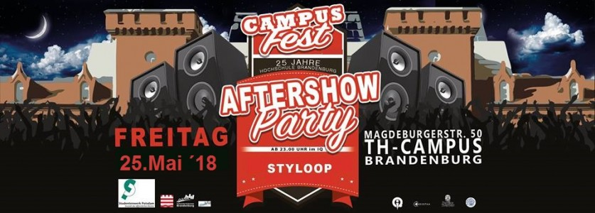 Campusfest Aftershow Party