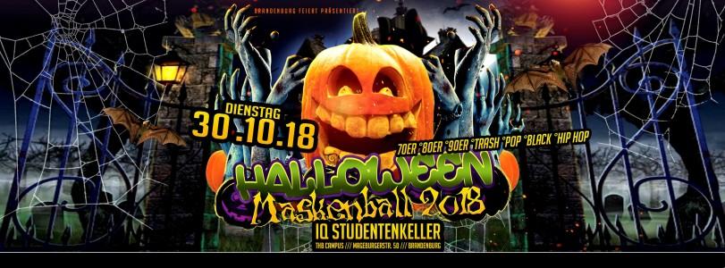 Halloween Masken & Kostüm Ball